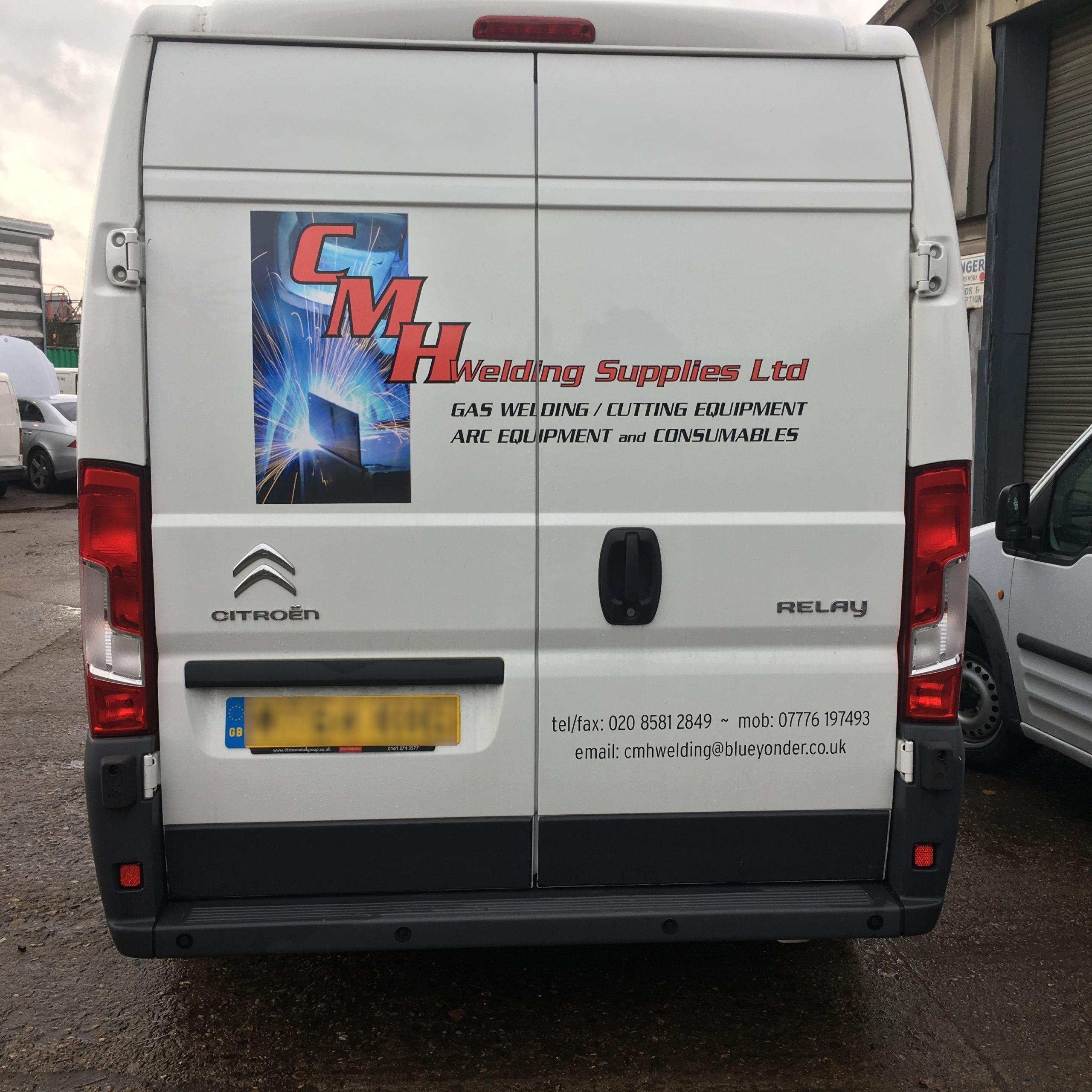 CMH Welding Supplies - Van