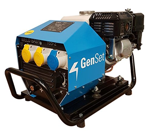 Genset Weld Baby 165-2 Petrol Welder Generator